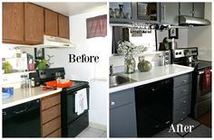 yourcharmedlife: Our Kitchen Condo Renovations / Kitchen Cabinets