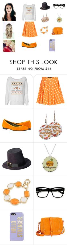 """""""Periwinkle Kloopus: Thanksgiving"""" by serafinacrescent299 ❤ liked on Polyvore featuring Jeremy Scott, 1st & Gorgeous by Carolee, ZeroUV, Kate Spade and Jérôme Dreyfuss"""