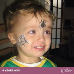 Face paint ideal for Halloween