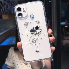 Astronaut iPhone Case - iPhone 8 Plus / Hug apple
