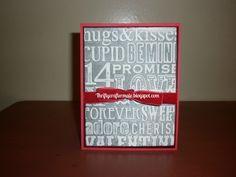Valentine Card 2015 Embossed