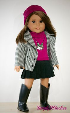 American Girl 18 Inch Doll Clothing. Piccadilly by Simply18Inches