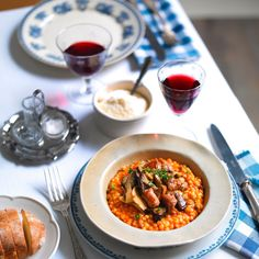 A cozy, hearty recipe from the island of Sardinia.
