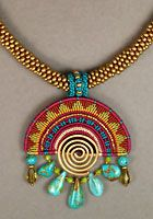 Macrame necklace - Joan Babcock