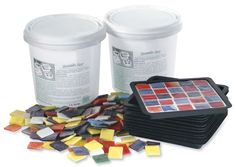 mosaic coaster mold kit