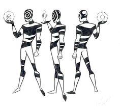 "Spellbinder concept art by Bruce Timm for ""Batman Beyond"" 1999 Batman Comic Art, Gotham Batman, Batman Comics, Batman Robin, Nightwing, Batgirl, Wayne Manor, Poison Ivy Batman, Justice League Unlimited"
