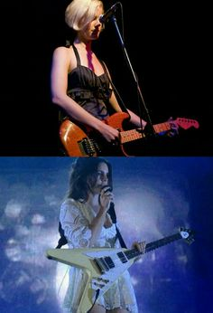 *Then & Now* Lana Del Rey with guitar on stage #LDR