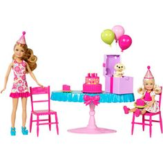 Barbie Chelsea Birthday Party Play Set