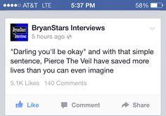 Yes!!!! Pierce The Veil <3