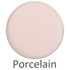 Porcelain (matte) Simple. Timeless. Beautiful. Porcelain should be a staple in every beauty bag! This matte off-white shade is perfect when applied as a base color or when used on the brow bone. Use Porcelain to cancel out any discoloration on your eyelids to get the best payoff from your eyeshadows.