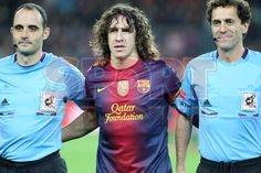 Puyol, FC Barcelona | BARÇA, 3 - ZARAGOZA, 1. >El retorno del Capitán< 17.11.12