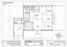 Title Block - includes Project Name & Location (Address), Drawing ...