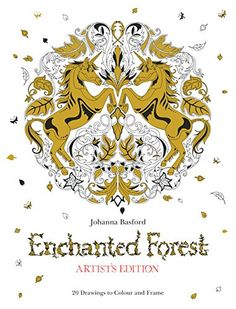 Enchanted Forest Artist's Edition: 20 Drawings to Color and Frame by Johanna Basford http://www.amazon.com/dp/1780677855/ref=cm_sw_r_pi_dp_Y8mUwb1ENA3Y9