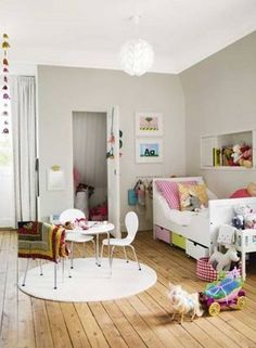 Bedroom play space all in one