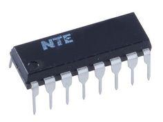 INTEGRATED CIRCUIT CMOS LOOK AHEAD CARRY GENERATOR 16-LEAD DIP by NTE. $2.49
