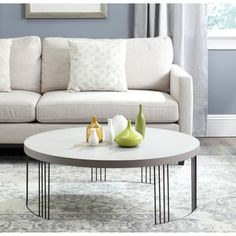 Shop for Safavieh Keelin Grey/ Black Coffee Table. Get free shipping at…
