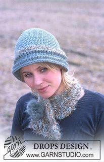 DROPS Hat and scarf in Alaska, Eskimo and Fox ~ DROPS Design