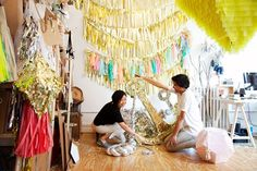 Nicholas Andersen & Julie Ho of Confetti System at their studio in New York City « the selby