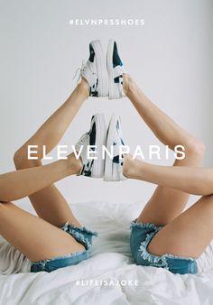 #ELVNPRSSHOES : Sky & Lorde #lifeisajoke #elevenparis