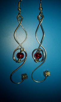 Handmade Pandorica Earrings.. Buy these now my minions