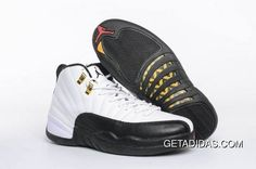 e80710ee0e633d Airjordan 12 Gold White Black Red TopDeals