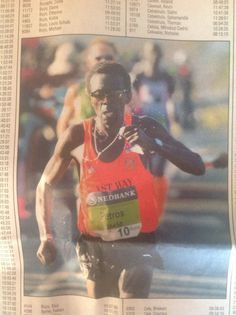 In Results is Petros Sosibo Vet and two times gold medallist in the colors of Marathon, Athletes, Times, Colors, Gold, Marathons, Calla Lily, Color, Colour