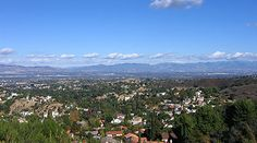 The San Fernando Valley, Los Angeles, CA. Where I lived for 1/4 of my life. Where my family remains...