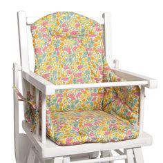 coussin de chaise haute etoile ideas para el cuarto de bebe roses