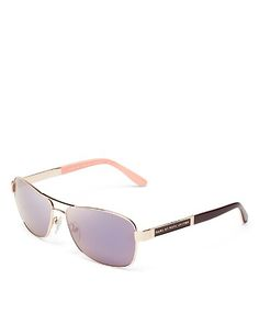 MARC BY MARC JACOBS Mirrored Navigator Sunglasses | Bloomingdale's