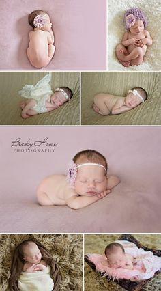 Becky Howe Photography Omaha NE Newborn Photographer | newborn girl