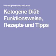Ketogene Diät: Funktionsweise, Rezepte und Tipps