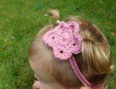 Simple Flower Baby Headband by AbigailsAttic112 on Etsy, $7.00