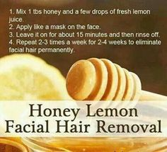 Home-made Facial Hair remover