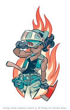 Firefighter #2 by bpresing.deviantart.com on @DeviantArt