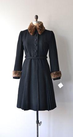 Lionheart coat 1940s princess coat vintage 40s by DearGolden