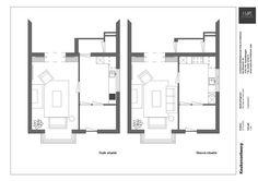 Keukenontwerp | onafhankelijk keukenadvies | Huis & Interieur. Links is de huidige indeling en rechts het ontwerp van Huis & Interieur