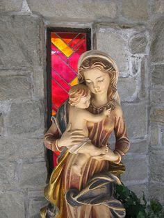 Mother Mary and Child Jesus, Trentino-Alto Adige, Italy