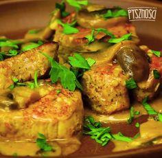 Gotowe danie możesz posypać posiekaną pietruszką. Smacznego! Tandoori Chicken, Paleo Recipes, Food And Drink, Meat, Dinner, Ethnic Recipes, Dining, Food Dinners, Against All Grain