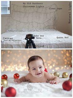 Идеи для новогодней фотосессии малышей | Ladyemansipe