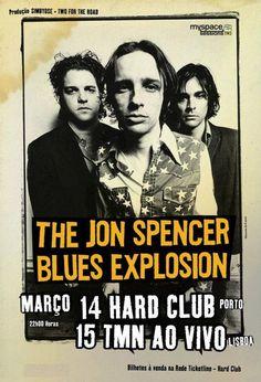 Jon Spencer Blues Explosion > Tour Posters / Tickets / Etc.   Pop ...