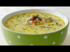 Reteta Ciorba de miel - JamilaCuisine - YouTube Soup Recipes, Recipies, Cooking Recipes, Romanian Food, Romanian Recipes, Russian Recipes, Pastry Cake, Soul Food, Cheeseburger Chowder