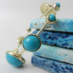 Blue Bubbles Bangle