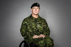 Honorary Colonel Rick Hansen's messages to Canadian Armed Forces members with non-visible or visible illnesses or injuries. Armed Forces, Bomber Jacket, Times, Jackets, Fashion, Special Forces, Down Jackets, Moda, La Mode
