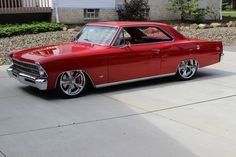 Bada$$, is it a Nova or Chevy 2, or are those the same car?? I like it either way :)