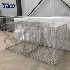 Source 4mm 5mm 6mm wire thickness galfan steel wire welded gabion cage gabion wall on m.alibaba.com Gabion Cages, Gabion Fence, Gabion Wall, Rock Wall, Wire Mesh, Steel, Wire Trellis, Steel Grades