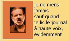 Jean Yanne. Jean Gabin, Quote Citation, Images, Info, Fun, Movie Posters, Words, Authors, Lyrics