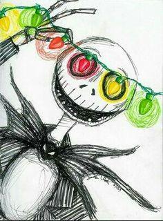 I love nightmare before Christmas. drawings nightmare before christmas PiggyBlue Art Tim Burton, Tim Burton Sketches, Tim Burton Drawings, Burton Burton, Disney Drawings, Art Drawings, Desenhos Tim Burton, Nightmare Before Christmas Drawings, Christmas Lights Wallpaper