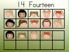 Watch the following videos, if kindergartners can see the images and identify the teen number that is represented, then they have met the conditions of the Common Core Standard.