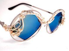 Spunglasses - Blue Topaz, Emeralds, and Opals