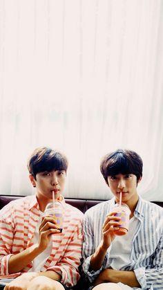 Sandeul & Gongchan B1A4 WALLPAPER ♡